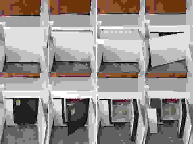 renovation of a living-room, Venice area (Italy) Soggiorno moderno di Andrea Girotto Architetto Moderno