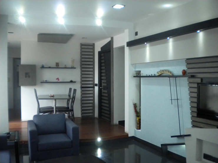 Sridhar Apartment Houses by Ashwin Architects
