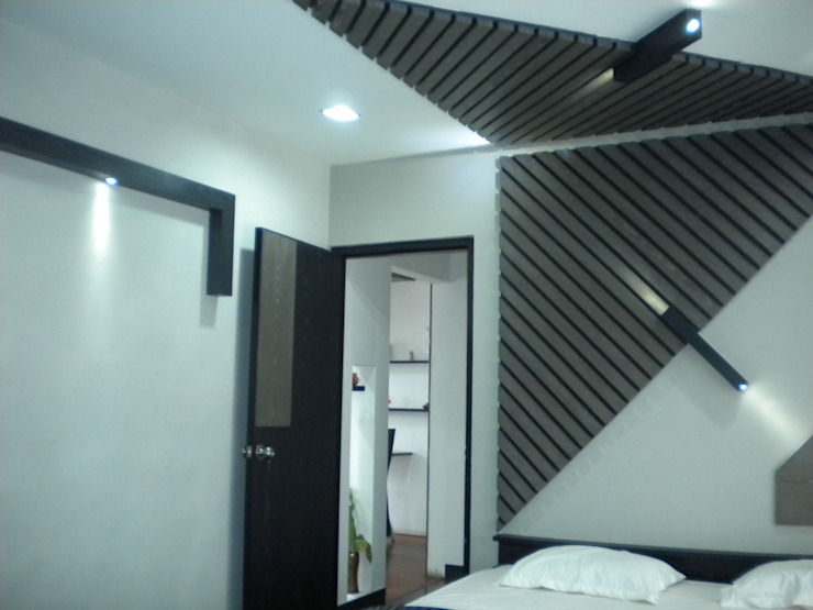 Bedroom Houses by Ashwin Architects