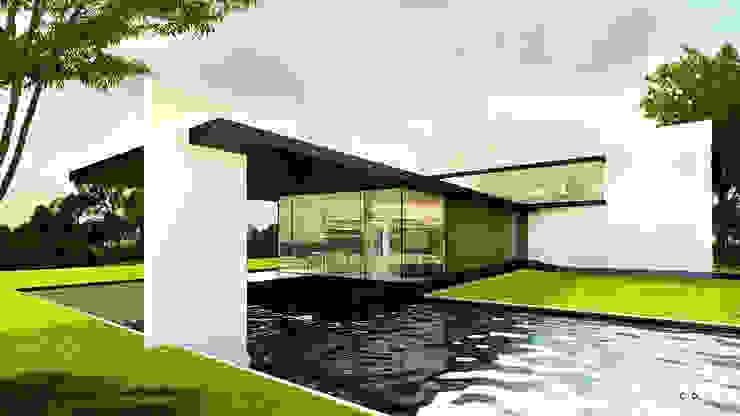 Casas modernas de CO Mimarlık Dekorasyon İnşaat ve Dış Tic. Ltd. Şti. Moderno