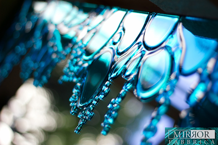 Drops (blue) by Mirror Fabbrica