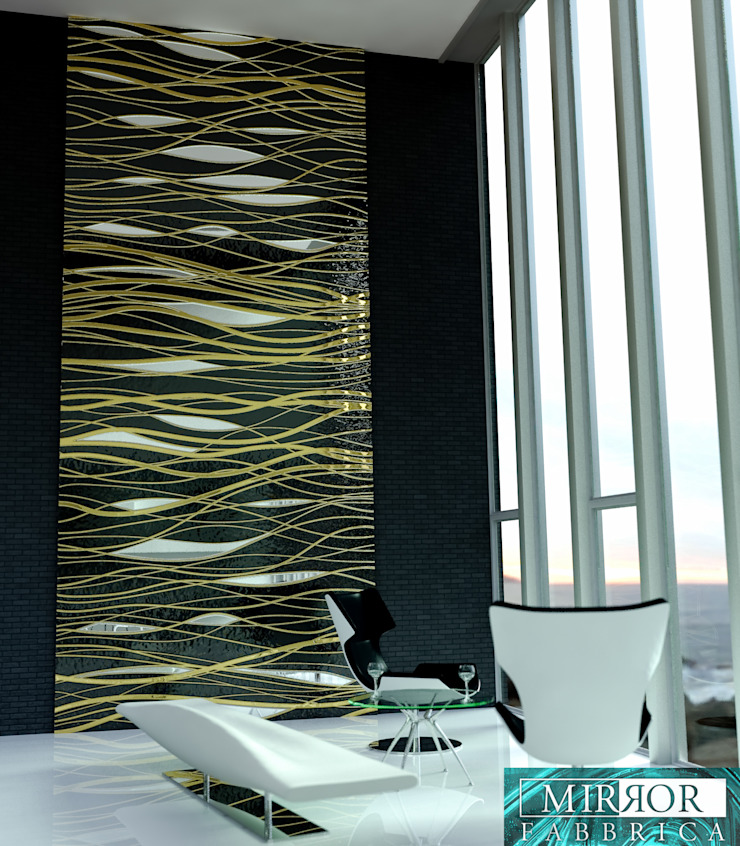 Wall Covering Panels by Mirror Fabbrica