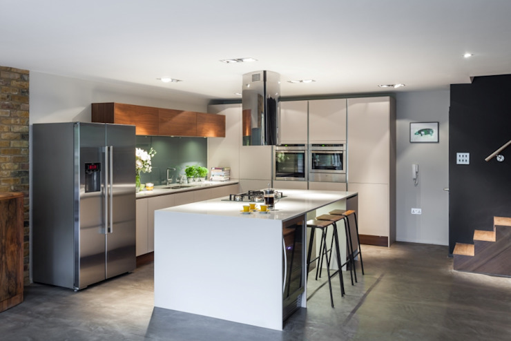 Basement Kitchen Eclectic style kitchen by Casey & Fox Ltd Eclectic