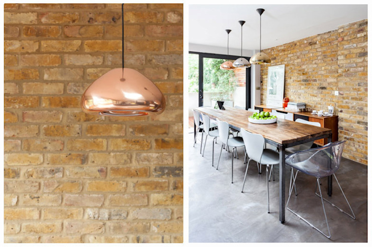 Dining Space Eclectic style kitchen by Casey & Fox Ltd Eclectic