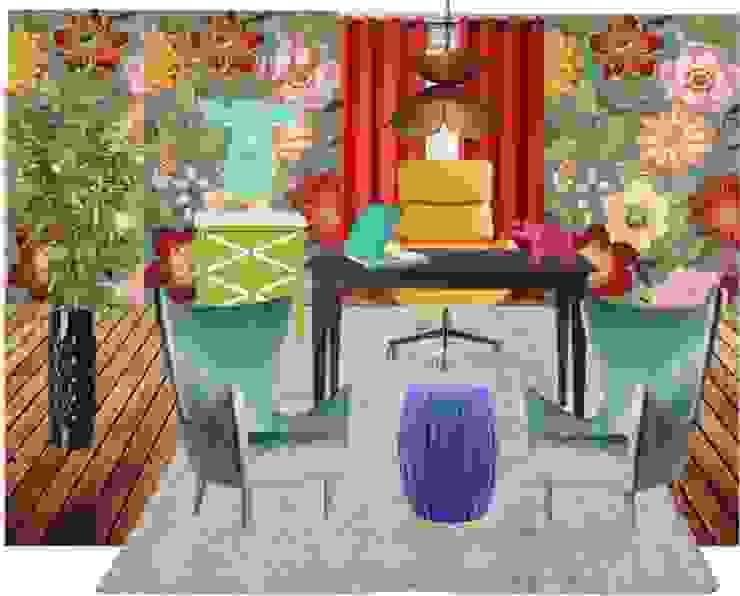 Playfool office room di ZauDESIGN Tropicale