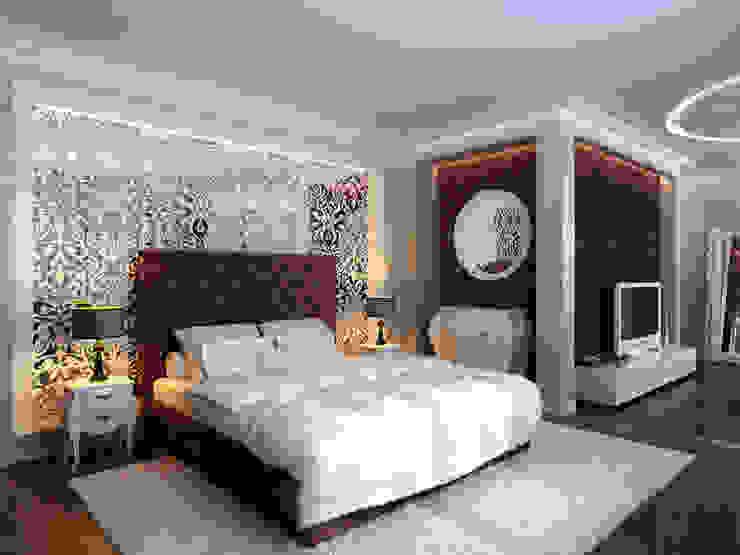 Изысканная неоклассика Спальня в классическом стиле от ММ-design Классический