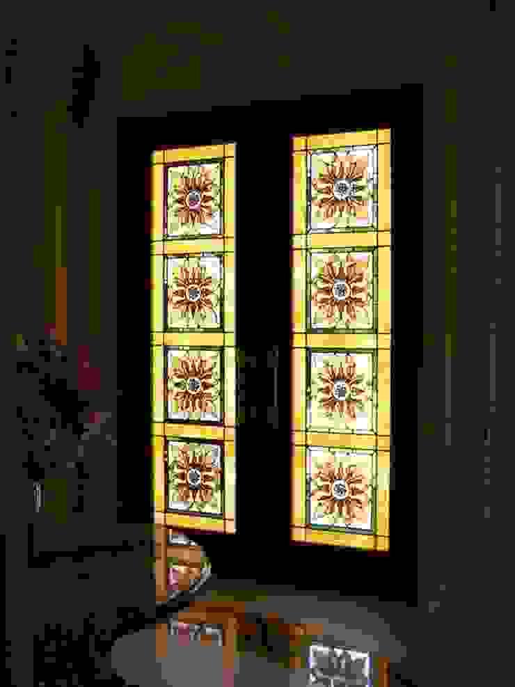 villa kapı berkart vitray Akdeniz