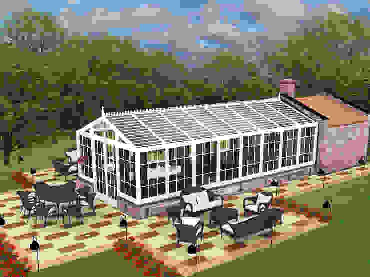 Kış Bahçesi Modern Kış Bahçesi CO Mimarlık Dekorasyon İnşaat ve Dış Tic. Ltd. Şti. Modern