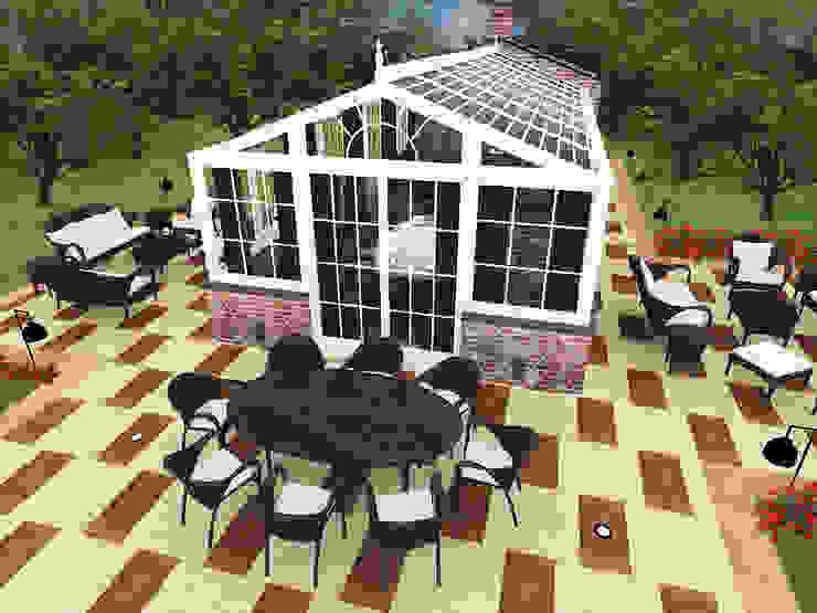CO Mimarlık Dekorasyon İnşaat ve Dış Tic. Ltd. Şti. – Kış Bahçesi :  tarz Kış Bahçesi