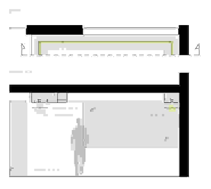 Casa LM di Laboratorio di Progettazione Claudio Criscione Design Moderno