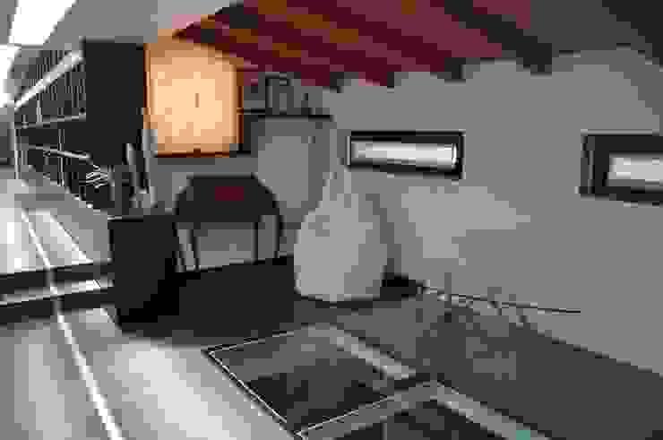 Interior design of a villa. de F_Studio+ dell'Arch. Davide Friso Moderno