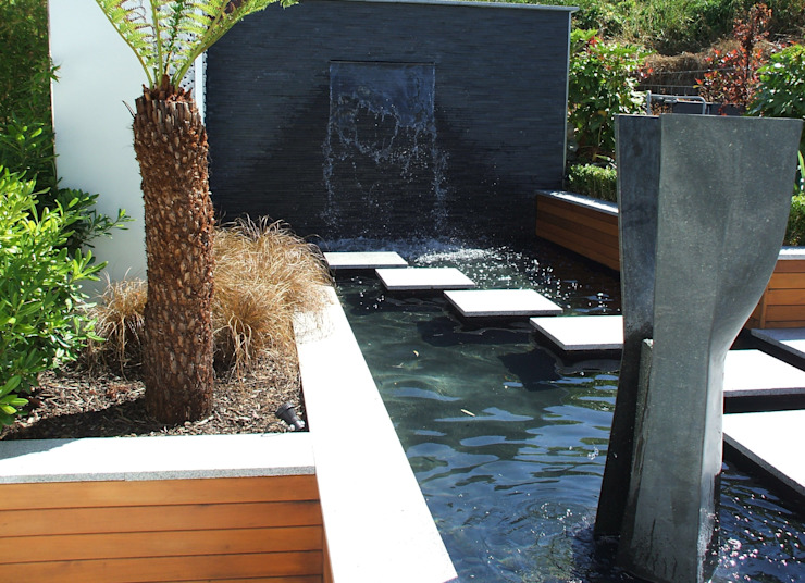"A Contemporary ""Oasis"" by Kevin Cooper Garden Design Сучасний"