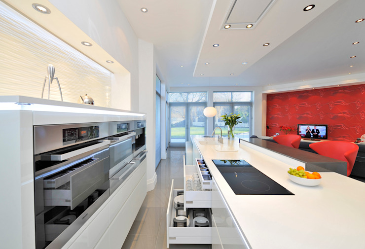 THE GARSIDE'S KITCHEN Modern kitchen by Diane Berry Kitchens Modern