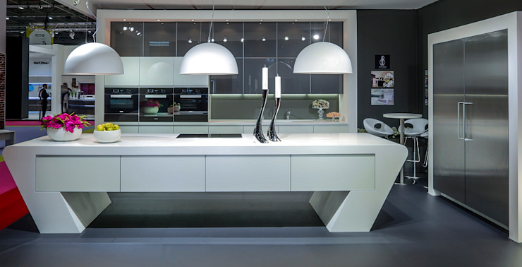 GRAND DESIGNS LIVE 2014 Modern Mutfak Diane Berry Kitchens Modern