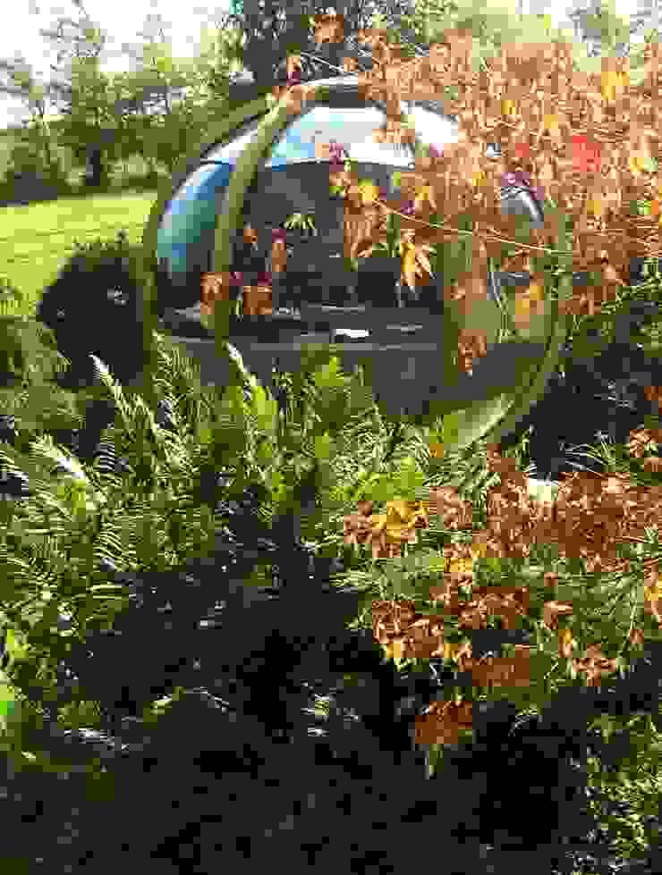 The <q>Sphere</q> has landed Modern garden by Kevin Cooper Garden Design Modern