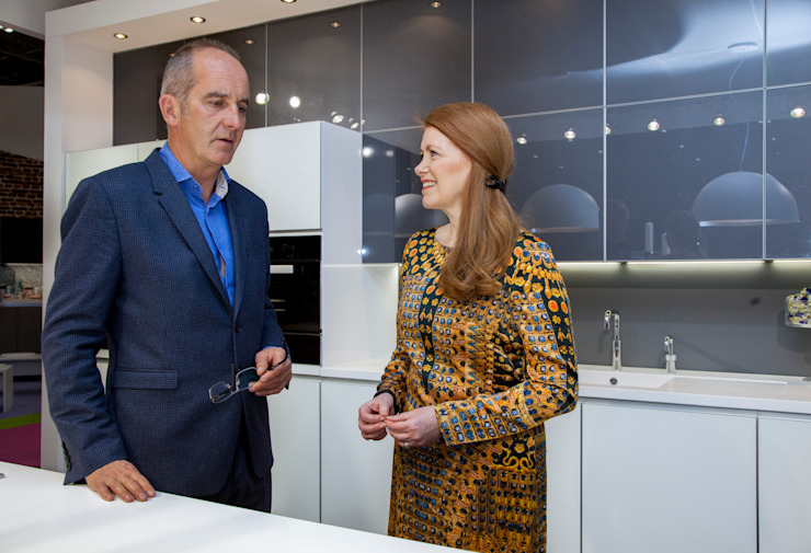 GRAND DESIGNS LIVE 2014 Modern kitchen by Diane Berry Kitchens Modern