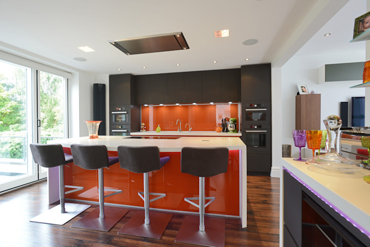 MR & MRS JACOBSON'S KITCHEN Modern Mutfak Diane Berry Kitchens Modern