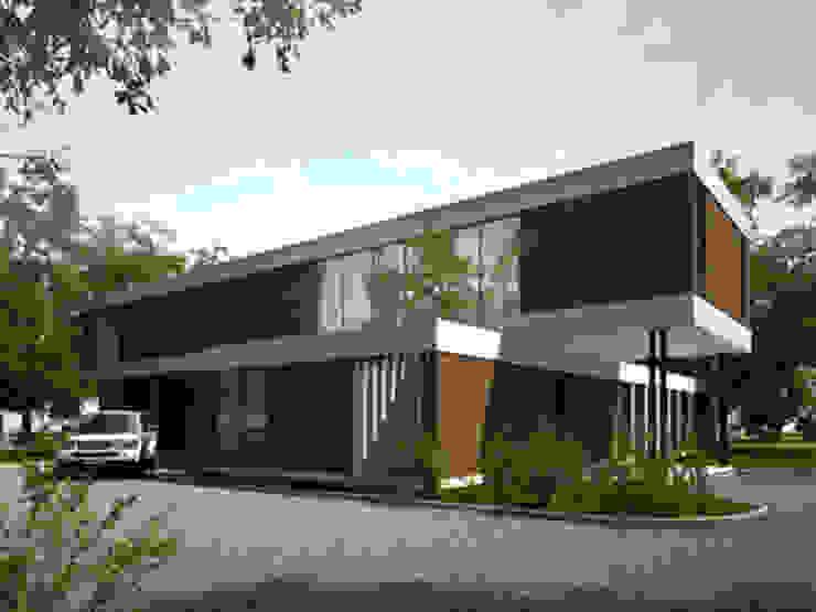 acceso Casas modernas: Ideas, imágenes y decoración de nisen s.a. Moderno