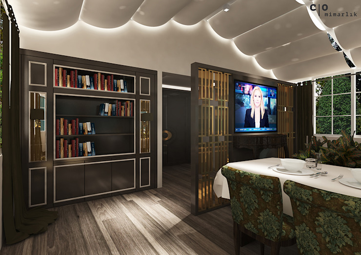 N.G. Kır evi Modern Evler CO Mimarlık Dekorasyon İnşaat ve Dış Tic. Ltd. Şti. Modern