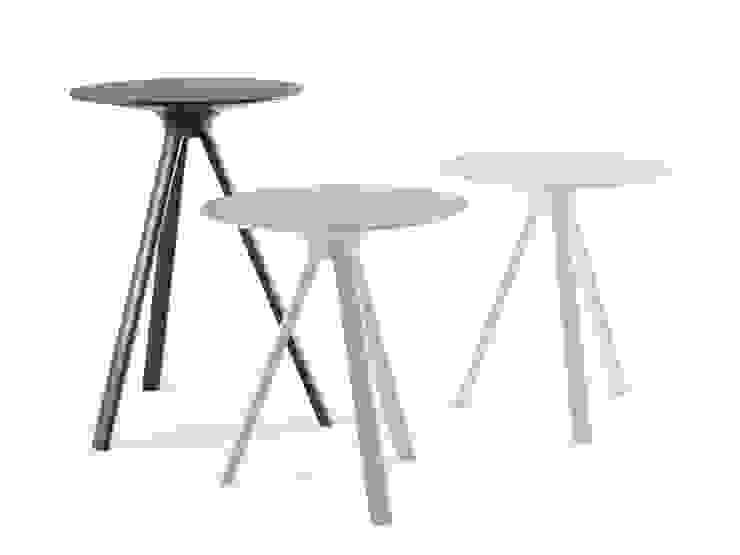 Möller Design Woody Carbone Beistelltisch: modern  von KwiK Designmöbel GmbH,Modern