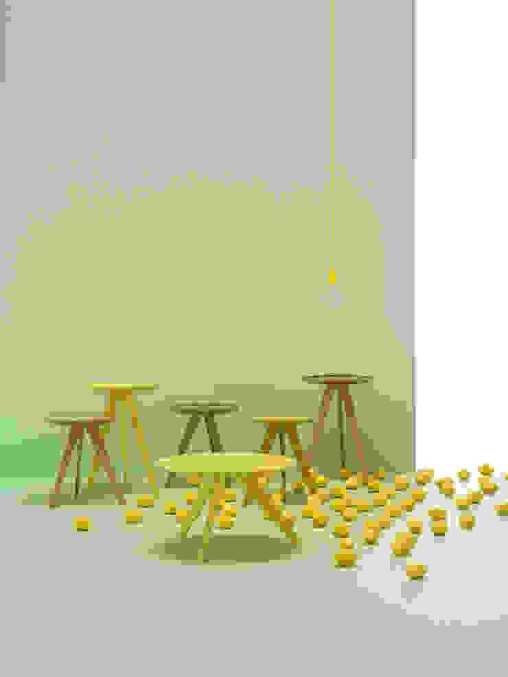 Möller Design Woody Hill Beistelltisch: modern  von KwiK Designmöbel GmbH,Modern