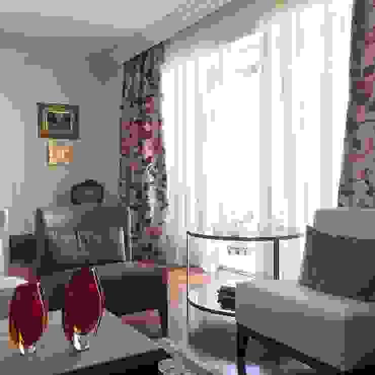 Apartamento clássico em São Paulo Salas de estar clássicas por Kika Prata Arquitetura e Interiores. Clássico