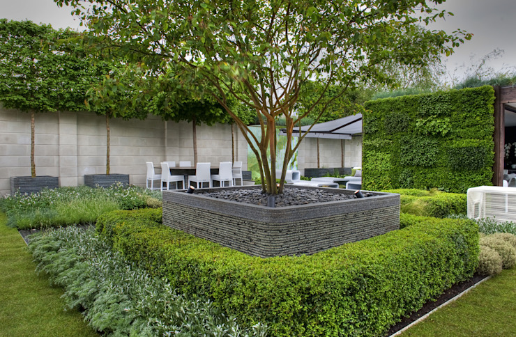 Chelsea Flower Show 2012 : The Rootop Workplace of Tomorrow Modern office buildings by Aralia Modern Stone