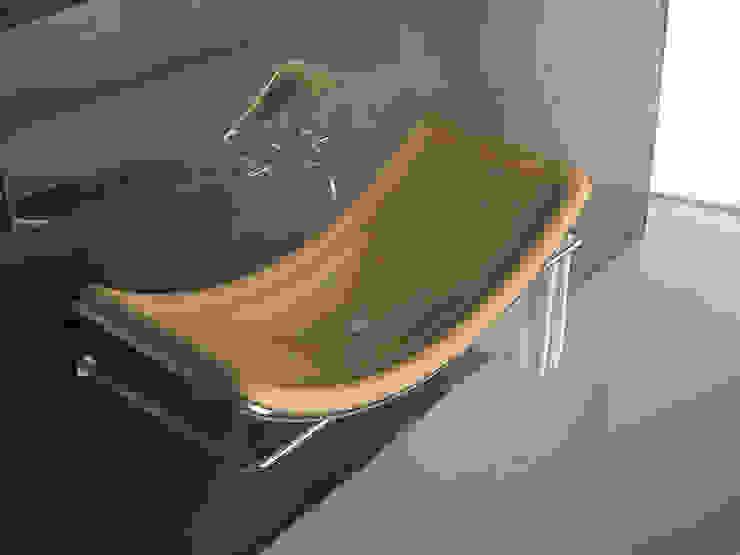Lavabo S di DiciannoveDieciDesign Moderno Legno Effetto legno