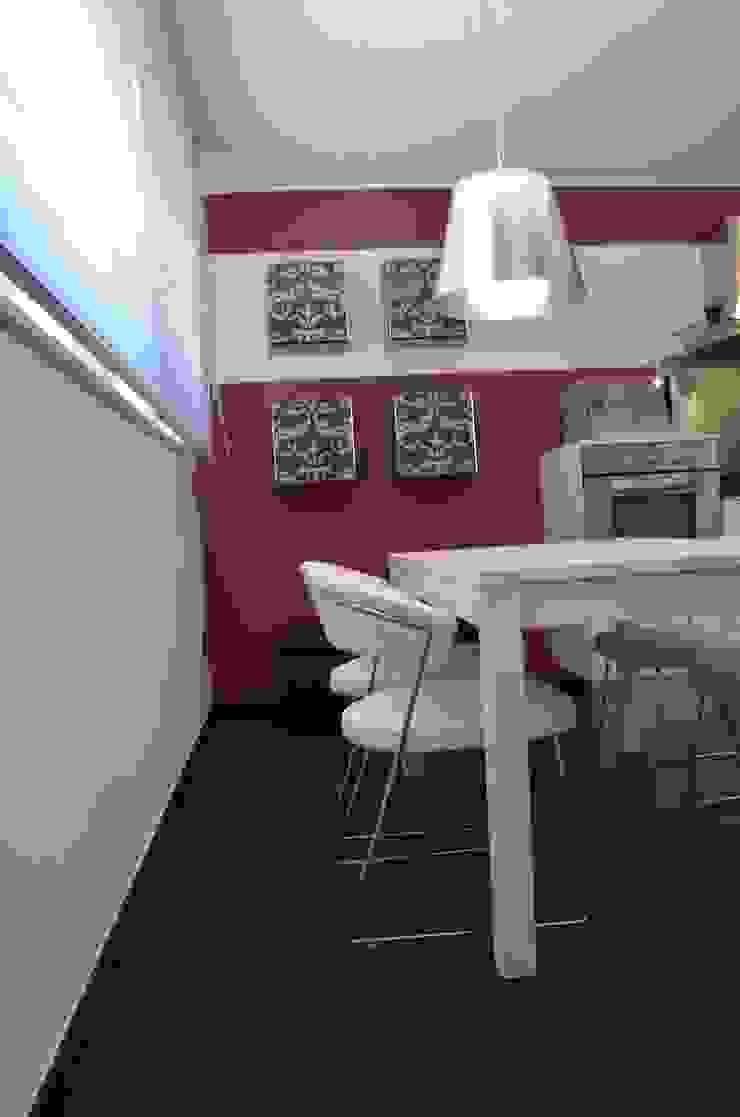 BIANCOACOLORI 現代廚房設計點子、靈感&圖片