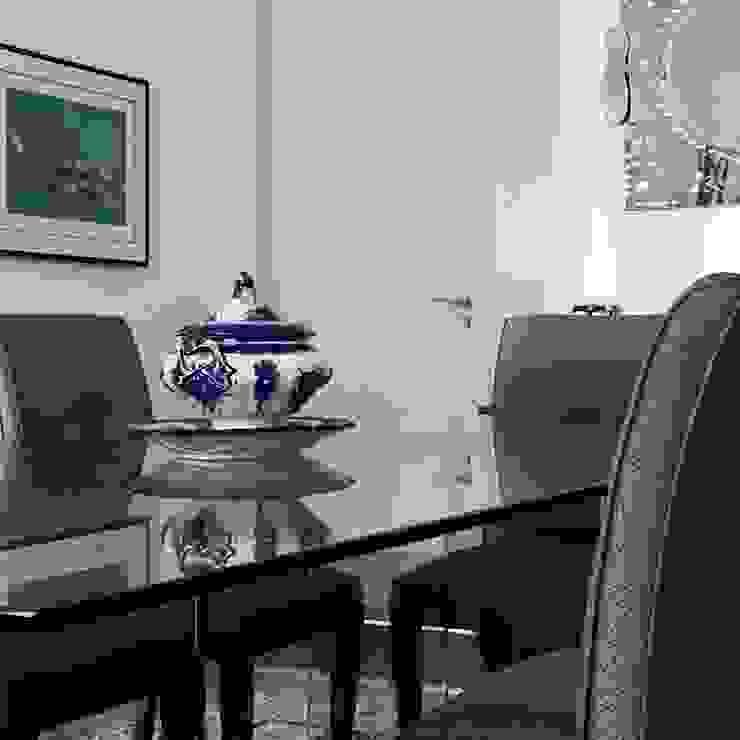 Kika Prata Arquitetura e Interiores. Classic style dining room