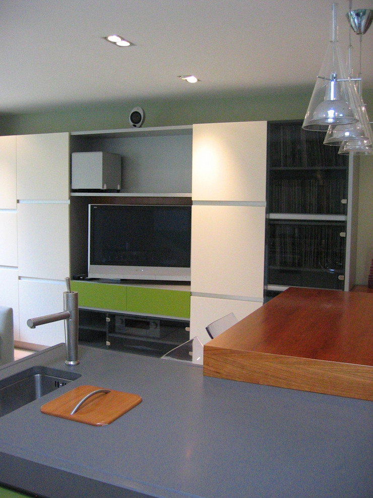 single storey extension SW London Modern kitchen by in and out design Modern