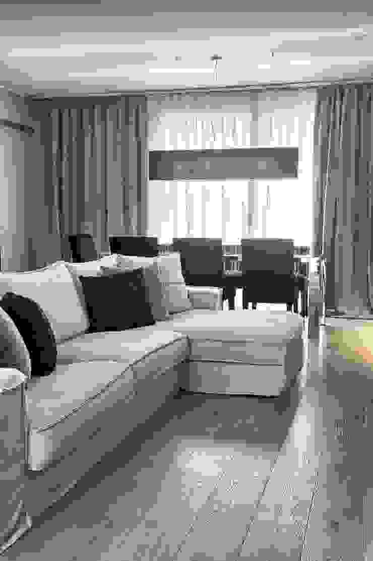 Il soggiorno Soggiorno moderno di STUDIO PAOLA FAVRETTO SAGL Moderno Legno Effetto legno