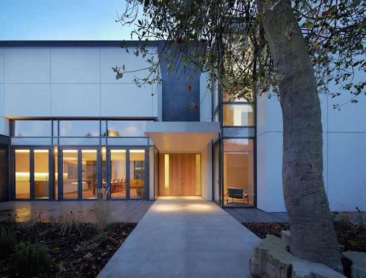 Abbey Road, St Johns Wood Modern houses by Alan Higgs Architects Modern
