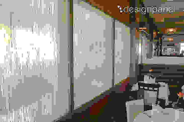 INVISION – Transparente Paneele mit eingelegten Materialien: modern  von Designpanel - Elements for innovative architecture,Modern