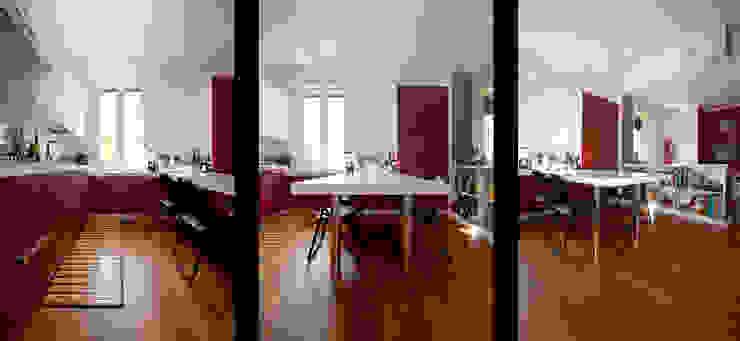 Zona giorno Case in stile minimalista di BRENSO Architecture & Design Minimalista