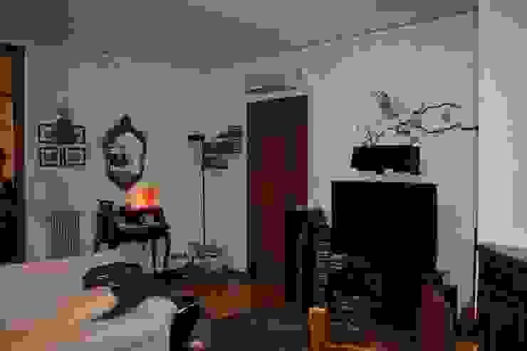 La zona salotto, prima di STUDIO PAOLA FAVRETTO SAGL Moderno