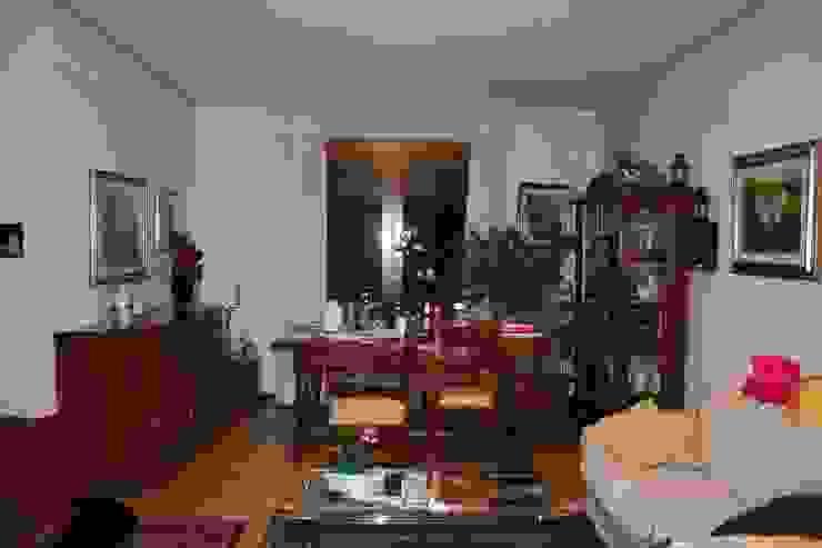 La zona soggiorno, prima di STUDIO PAOLA FAVRETTO SAGL Moderno