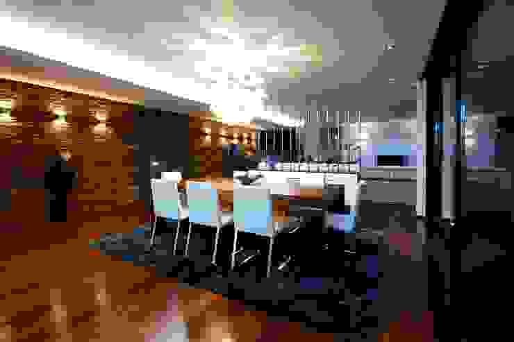 Sala Jantar Augusta House Salas de jantar minimalistas por Risco Singular - Arquitectura Lda Minimalista