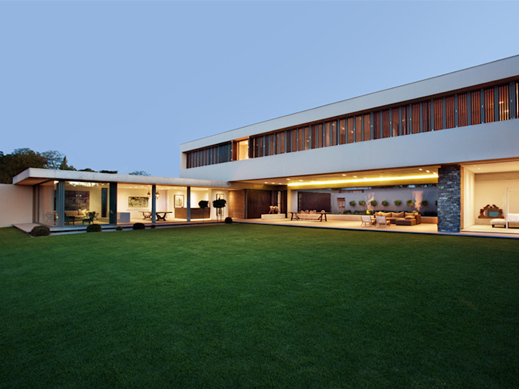 House 01, Hyde Park Modern Evler Daffonchio & Associates Architects Modern