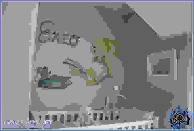 Murales en habitaciones infantiles Dormitorios infantiles de estilo moderno de CAMPU.NET Moderno