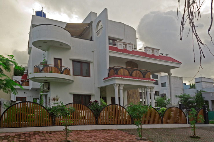 Jain bungalow by Gupta's Asso.Architects pvt.ltd.