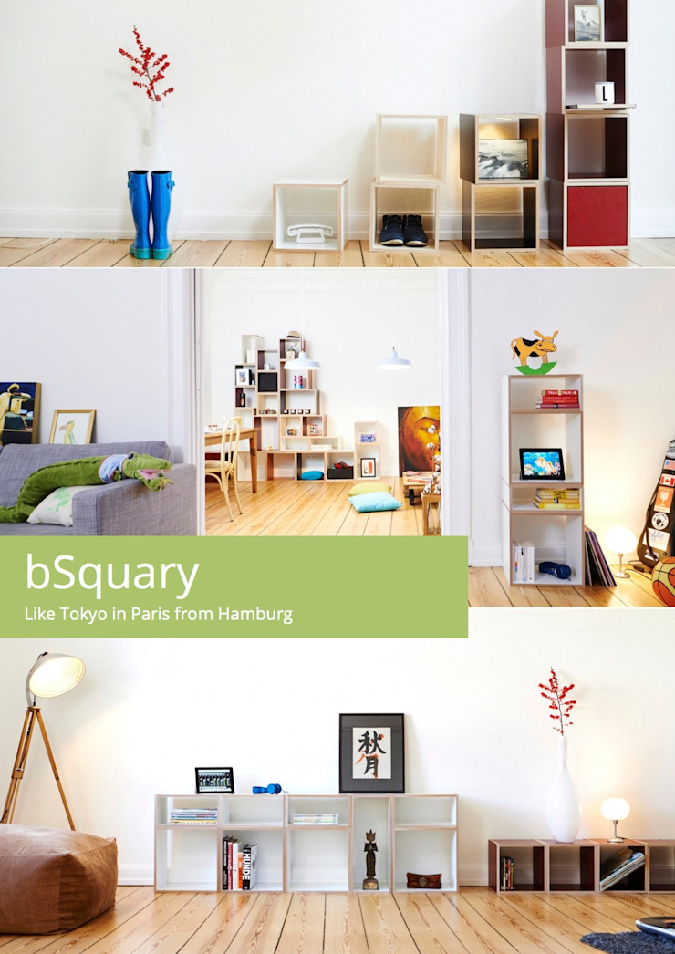 bSquary - Like Tokyo in Paris from Hamburg bSquary Designs HaushaltRaumteiler und Paravents