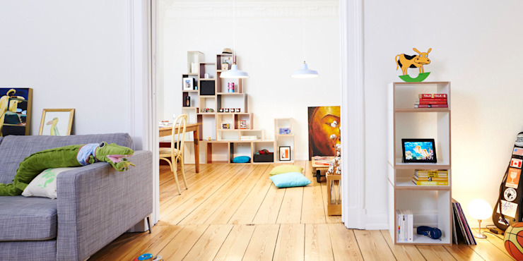 Kreative Wohnlandschaft - in vielen Farben und Formen bSquary Designs HaushaltRaumteiler und Paravents