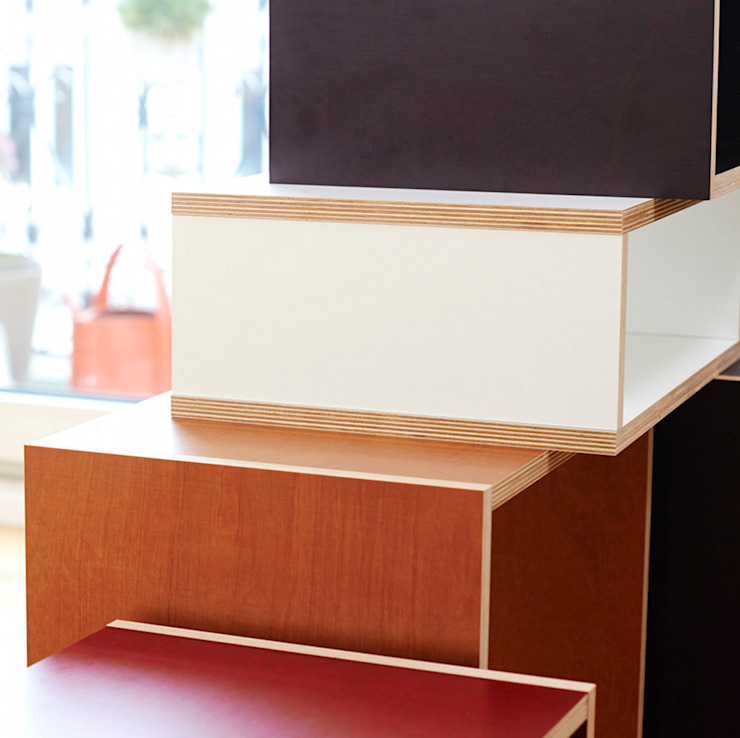 Regale in verschiedenen Formen, Materialien und Farben bSquary Designs HaushaltRaumteiler und Paravents
