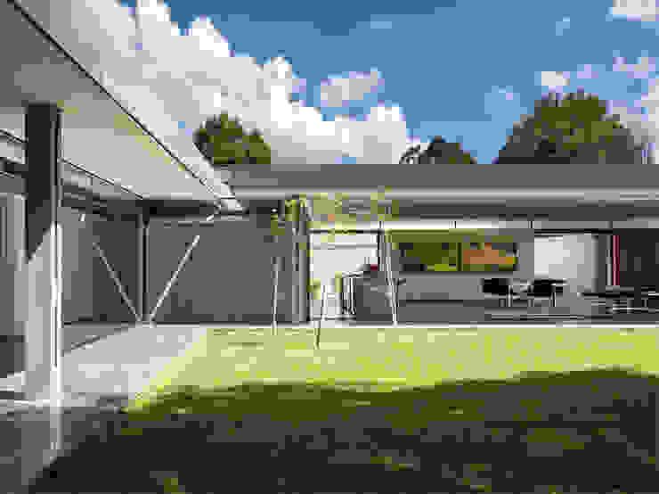 House 02, Hyde Park Moderne Häuser von Daffonchio & Associates Architects Modern