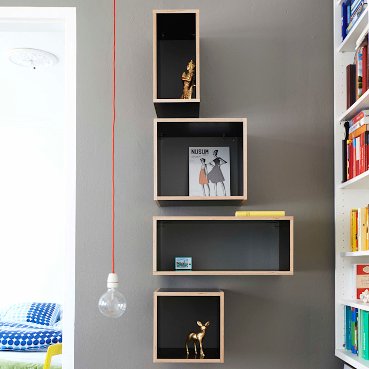 Wandregal The Wall bSquary Designs HaushaltRaumteiler und Paravents
