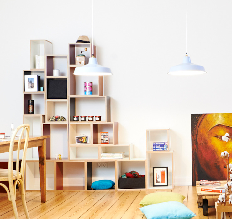 Wohnwand bNY bSquary Designs HaushaltRaumteiler und Paravents