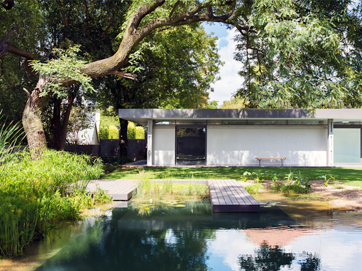 House 02, Hyde Park Case moderne di Daffonchio & Associates Architects Moderno