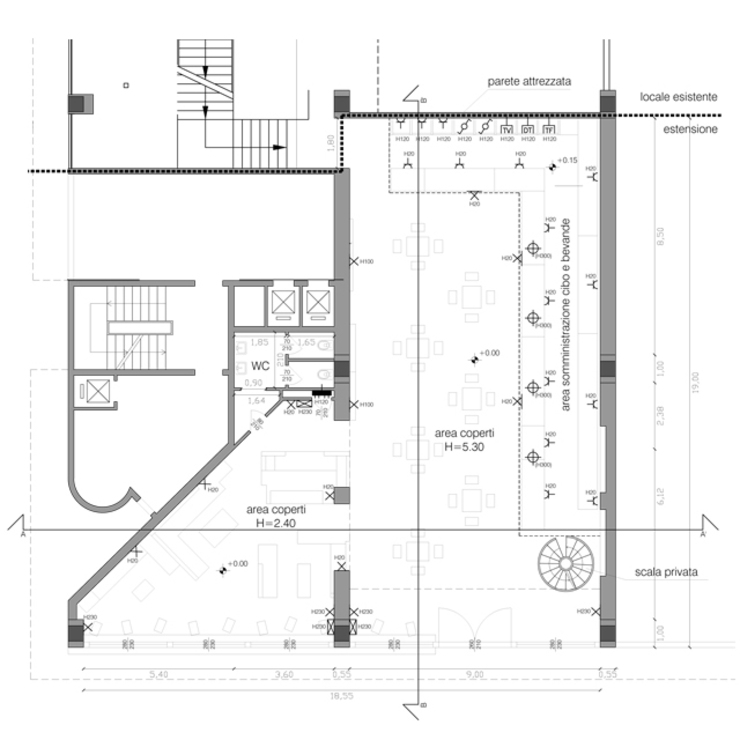 Floorplan par BRENSO Architecture & Design Éclectique