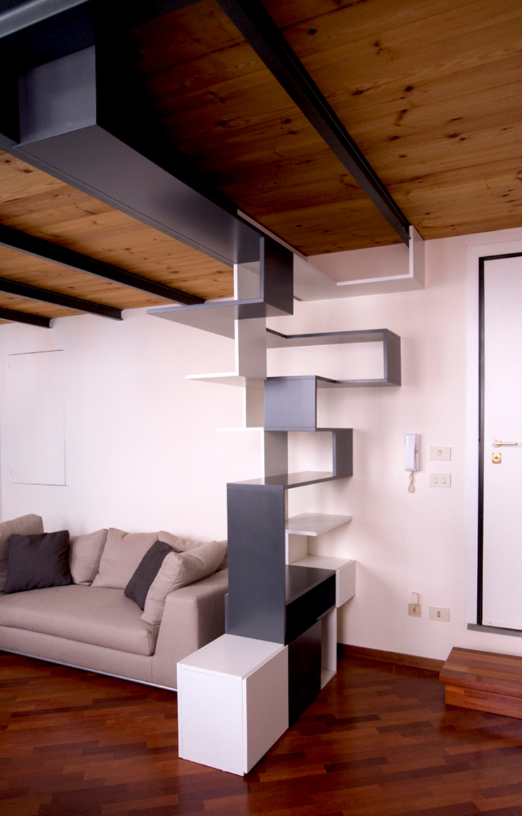 Twin Waves di BRENSO Architecture & Design Moderno